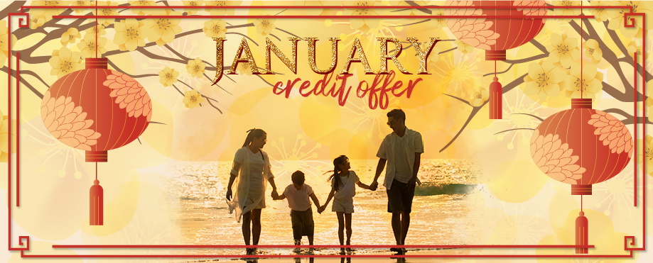 January credit offer
