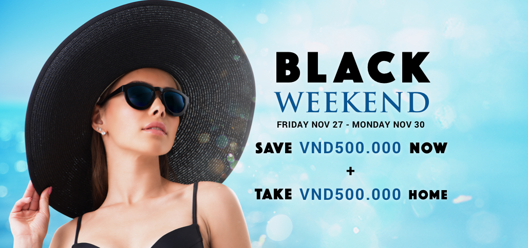 BLACK WEEKEND-DOUBLE SAVING
